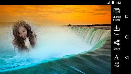 Waterfall Photo Frame HD