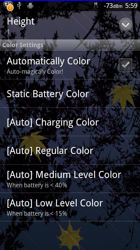 T.E.A.M. Battery Bar- screenshot