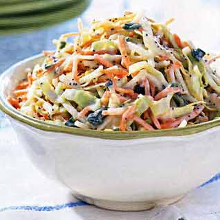 Apple and Poppy Seed Slaw