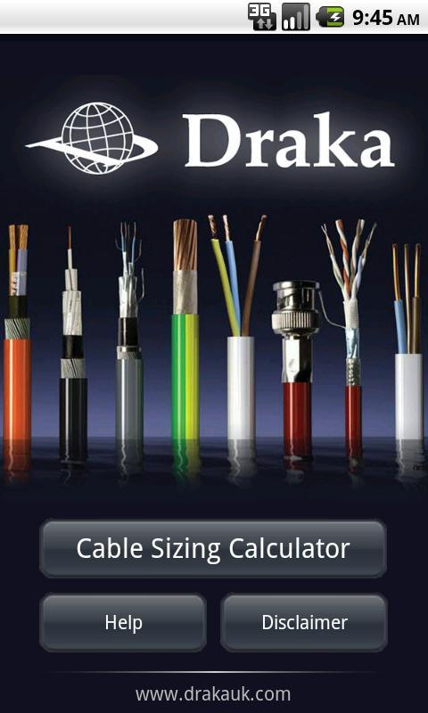 Draka Cable- screenshot