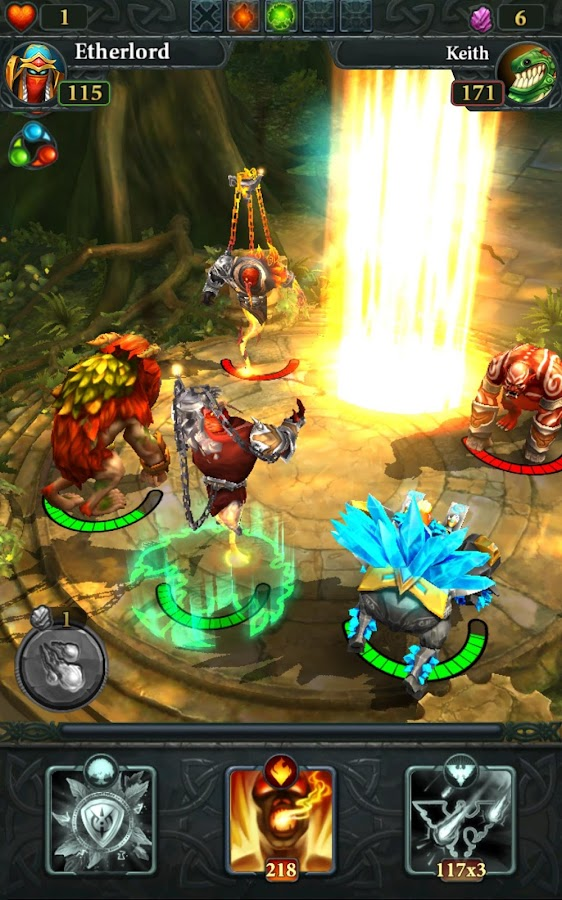 Etherlords: Heroes and Dragons- screenshot