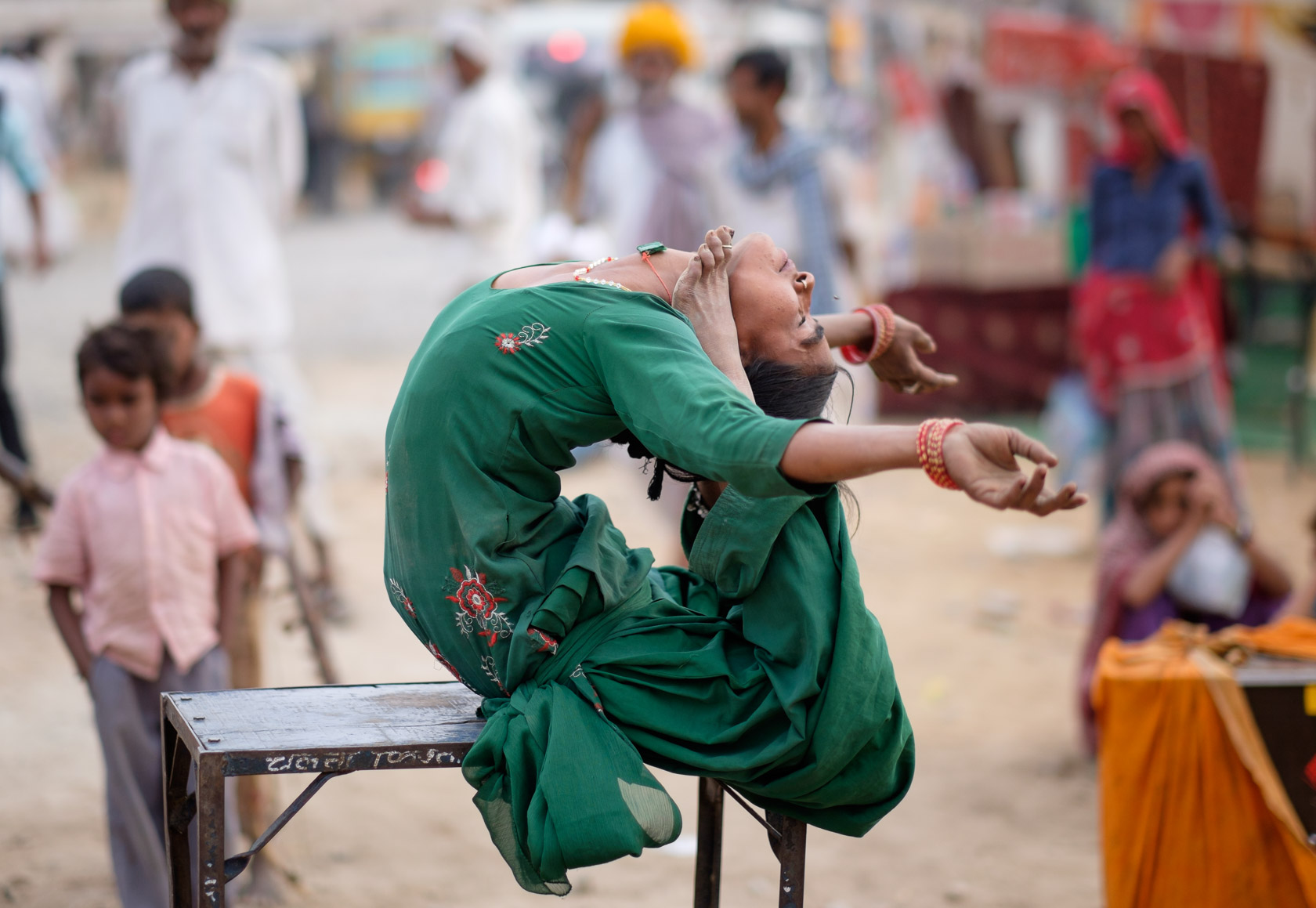 Street Performer, Pushkar, India