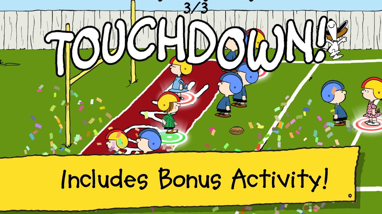 Snoopy's All Star Football- screenshot