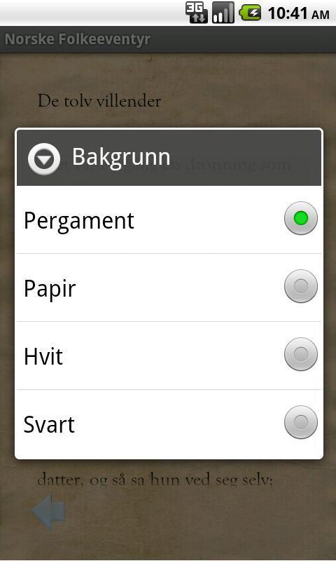 Norske Folkeeventyr- screenshot