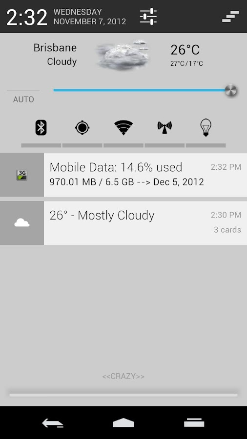 Chromium-Theme for CM10.1/AOKP - screenshot