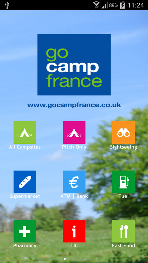 Camping France App- screenshot