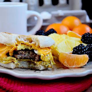 Copycat McDonalds Sausage, Egg & Cheese McMuffin