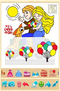 girls coloring game screenshot thumbnail
