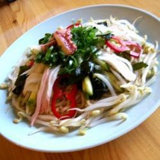 Japanese Crab Noodle Salad.