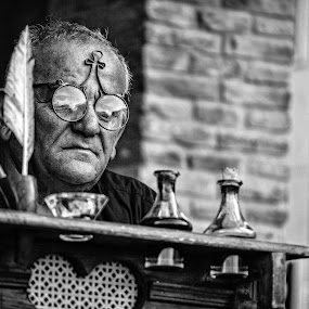 The Priest by Andrea Magnani - People Musicians & Entertainers ( andrea magnani fotografia, the priest, middle age, portrait )
