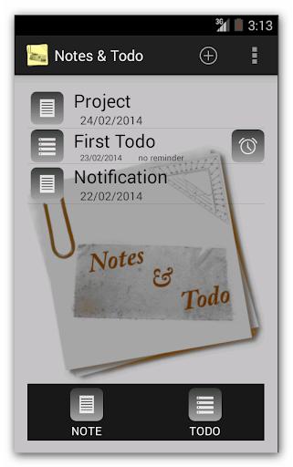 Notes Todo
