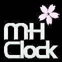 MH Clock Sakura logo