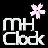 MH Clock Sakura