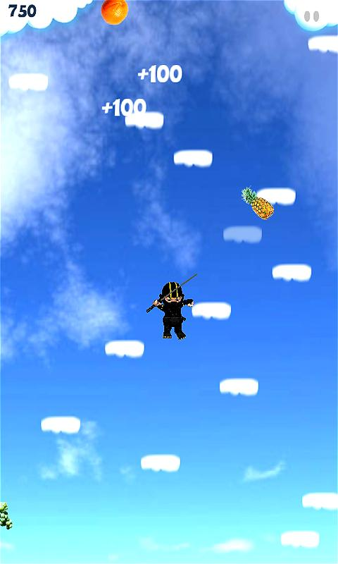 Baby Ninja Jump - screenshot