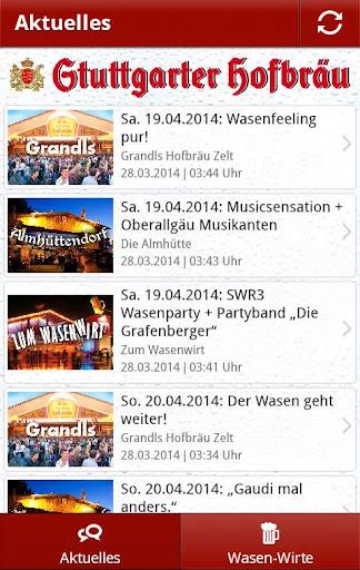 Stuttgarter Hofbräu Wasen News