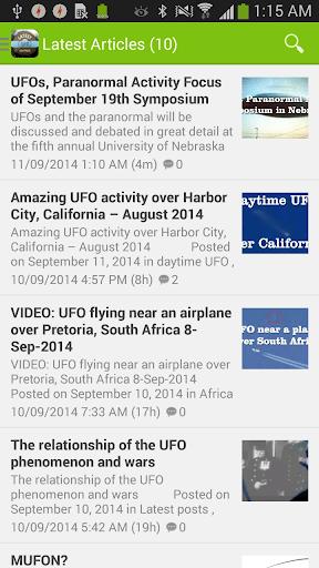 Latest UFO Sightings 2.0