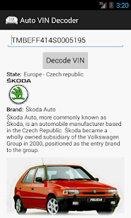 Auto VIN Decoder- screenshot thumbnail