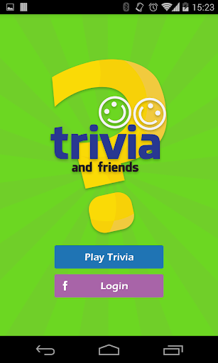 Trivia and friends Quiz