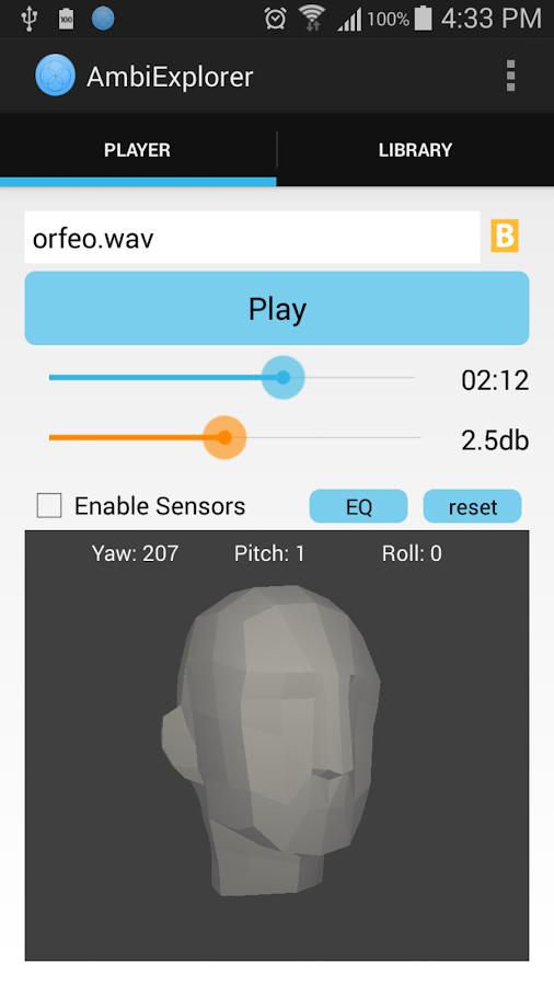 AmbiExplorer - screenshot