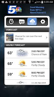 Alarm Clock WPTZ NewsChannel 5- screenshot thumbnail
