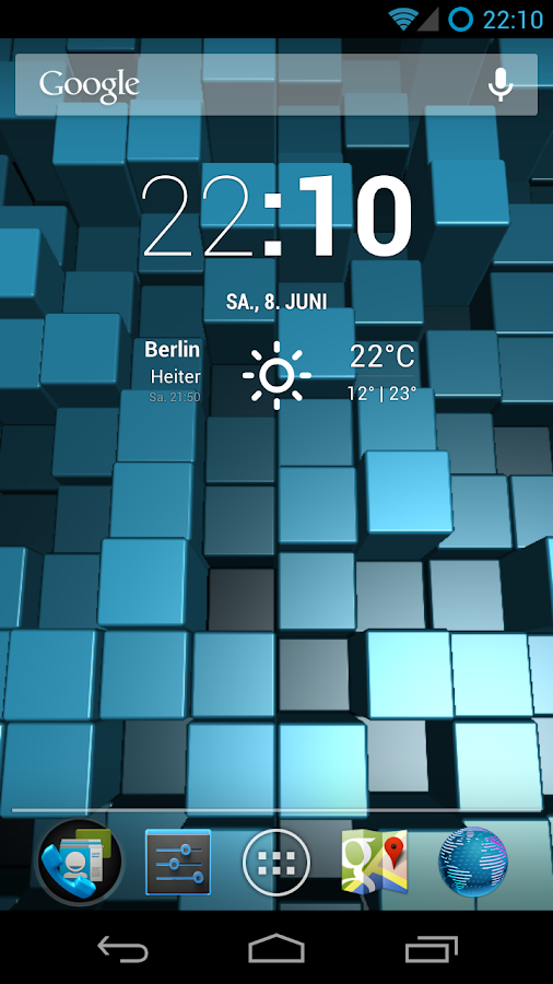 Blox Pro: Live Wallpaper- screenshot