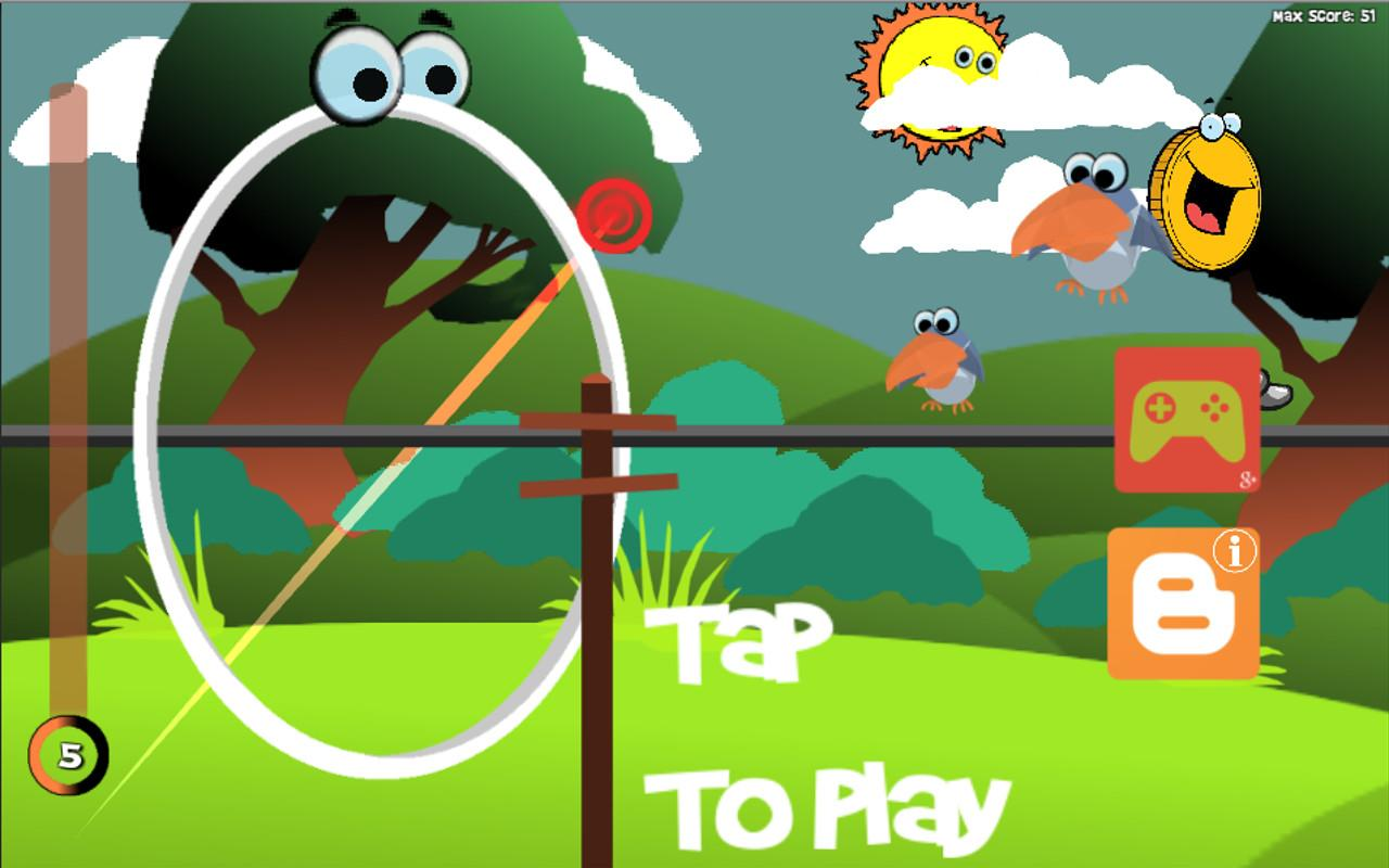 Hula Hoop VS Birds- screenshot