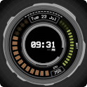 AHL Sci-Fi System Clock (Free) icon