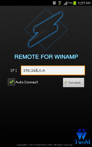 Remote for Winamp