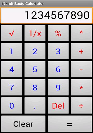 iNandi Basic Calculator