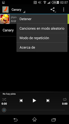 Canary - screenshot