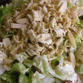 Napa Cabbage Noodle Salad.