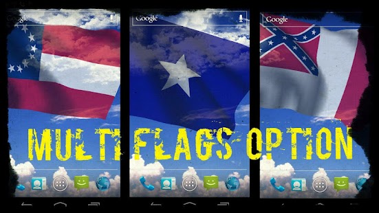 Rebel Flag Live Wallpaper Free - screenshot thumbnail
