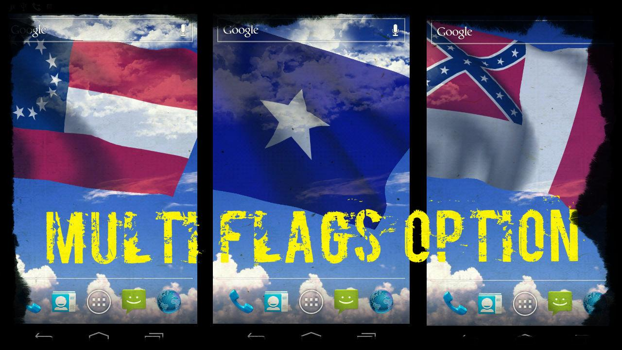 Rebel Flag Live Wallpaper Free - screenshot