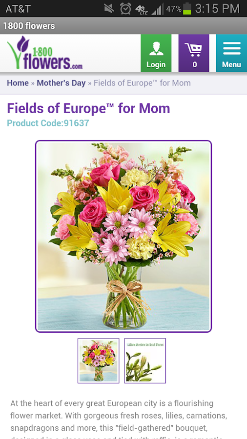 1-800-FLOWERS - Flowers, gifts - screenshot