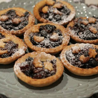 Saffron and Star Anise Mince Pies.