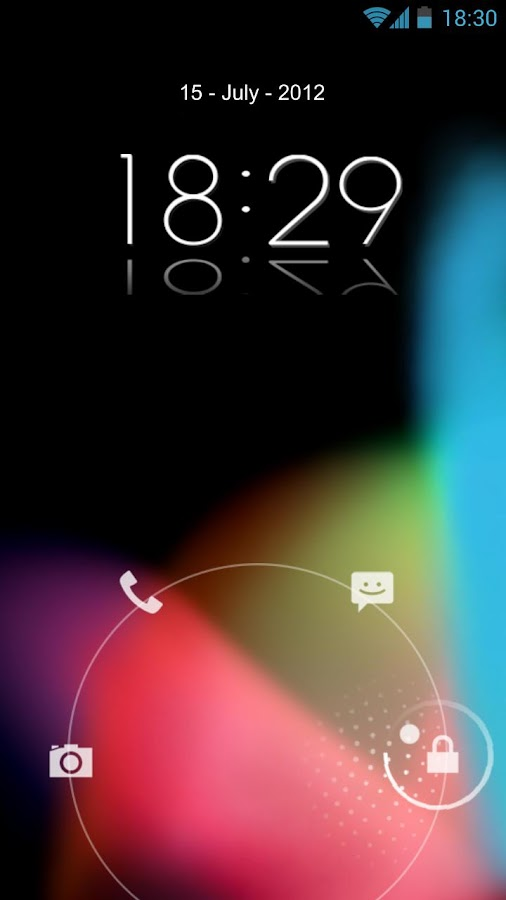 Jelly Bean HD Lockscreen Theme - screenshot