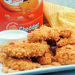 Cheesy Chicken Tenders.