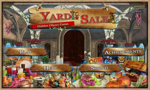 Yard Sale Find Hidden Objects