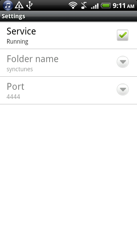 Sync iTunes to android - Pro - screenshot