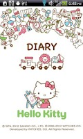 Screenshot of Hello Kitty Diary