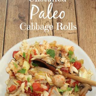 Unstuffed Paleo Cabbage Rolls