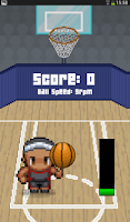 Screenshot of Basketball fun spin game