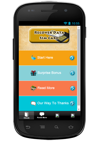 Recover Data Sim Card