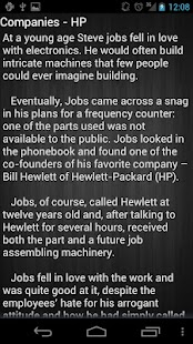 Steve Jobs - screenshot thumbnail