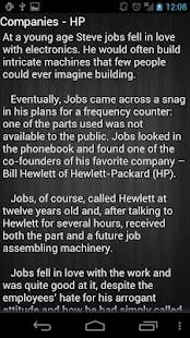 Steve Jobs - screenshot thumbnail
