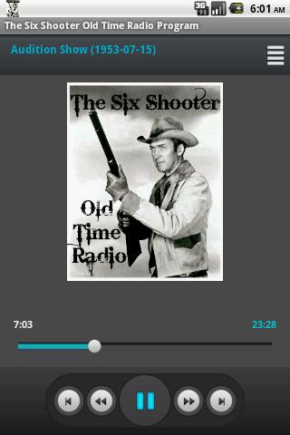 Six Shooter Old Time Radio