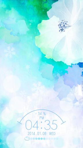 Snow Flower Live Locker Theme