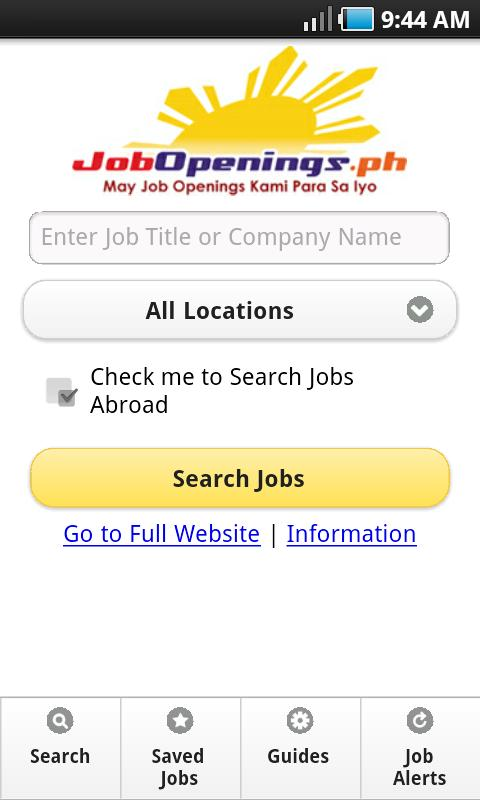 JobOpenings.ph- screenshot