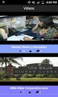 Screenshot of MRA Manuel Rivera y Asociados