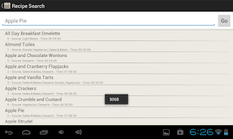 Screenshot of Point Tracker Weight Watchers